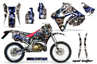 Amr Racing Honda Crm 250ar Graphic Decals Number Plate Kit Mx Bike Stickers Mh U