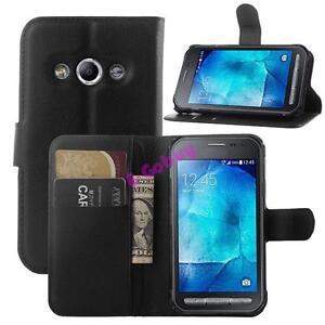 Clapet-Magnetique-Stand-en-Cuir-PU-Carte-Etui-pour-Samsung-Galaxy-Xcover-3-G388F