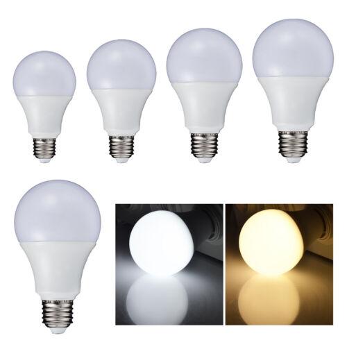 LED 5730 SMD E27 KUGEL LEUCHTMITTEL 3W 5W 7W 9W 12W LEUCHTE LAMPE GLÜH-BIRNEN 4