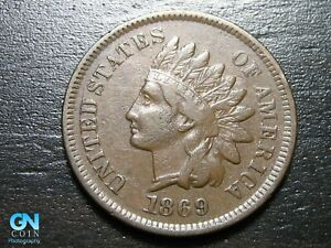 1869-Indian-Head-Cent-Penny-MAKE-US-AN-OFFER-B4500