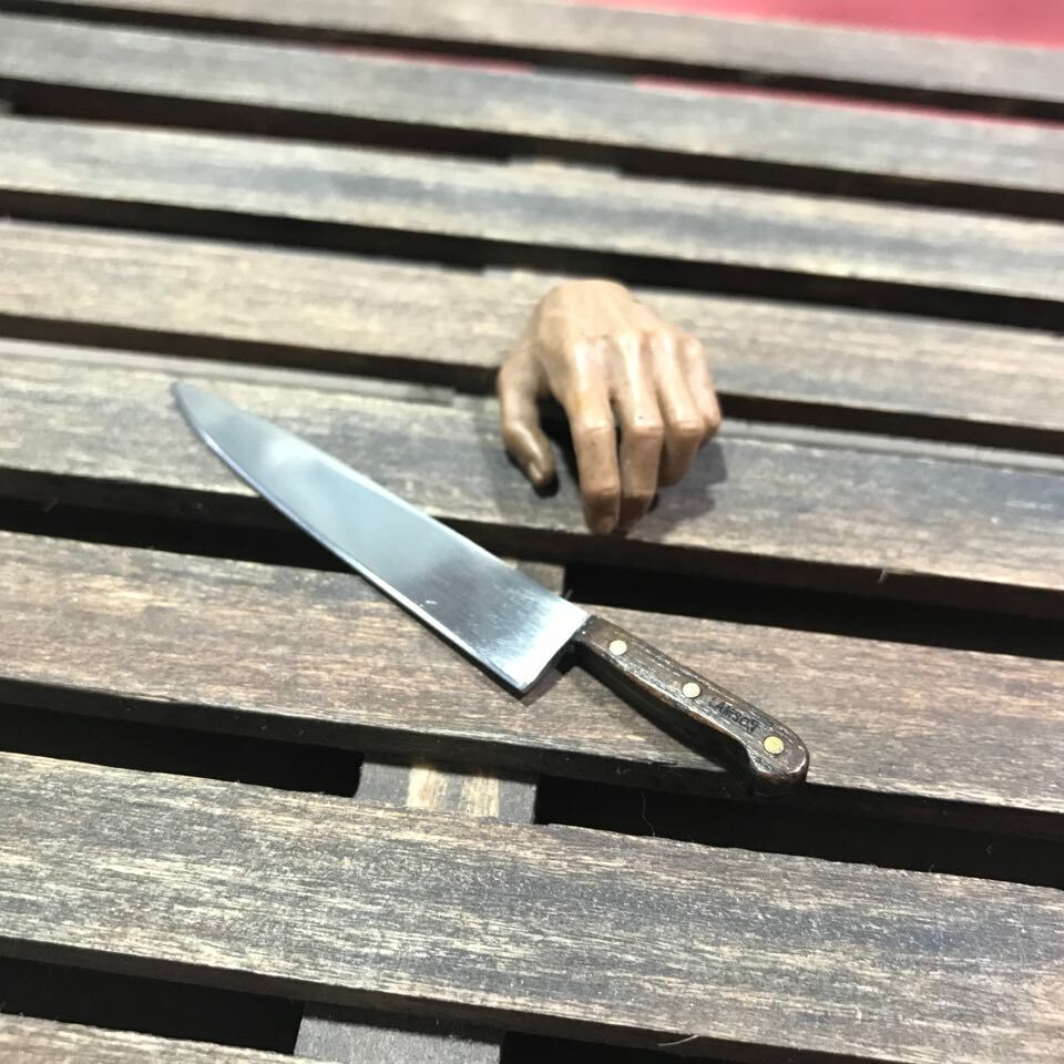 Custom Made 1 6 Scale (Michael Myers) Lamson Knife Movie  Halloween  Version 2