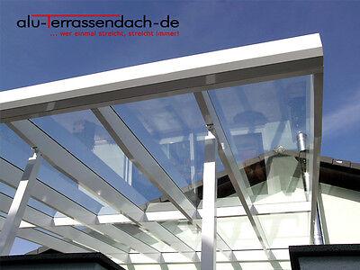 Der GüNstigste Preis Alu-terrassendach-de - Terrassenüberdachung - Aluminium Mit Vsg
