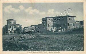 Cartolina-di-Falconara-Marittima-asilo-Ancona-1936
