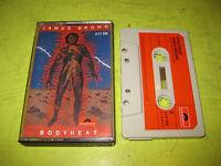Rare James Brown Bodyheat Cassette Tape 1976 Funk Soul Germany Vintage Polydor