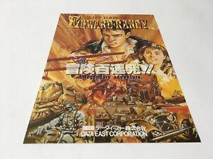 The-Cliffhanger-Edward-Randy-Arcade-Game-Flyer-Japan-DATA-EAST