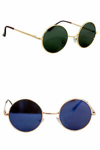 Combo of two vintage sunglasses In Golden rim
