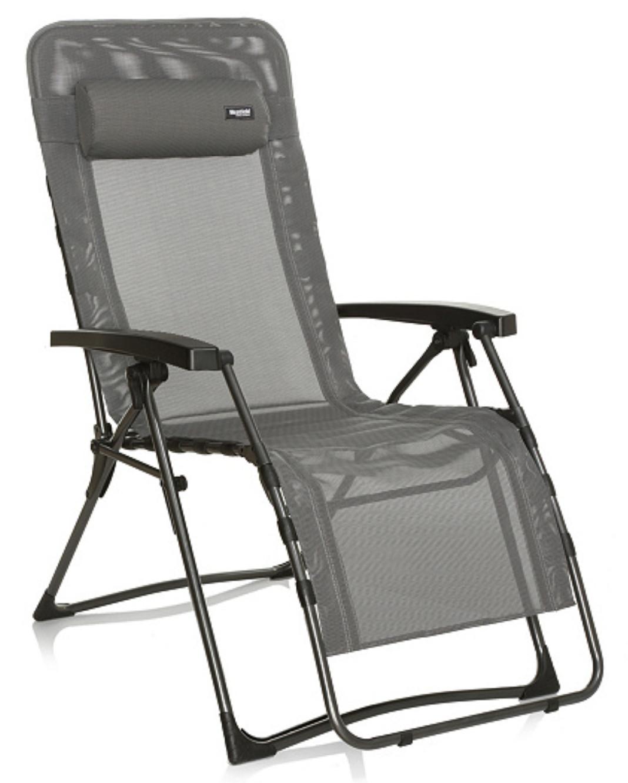 WESTFIELD Relax Lounger Relaxliege textilene grau wasserabweisende 140kg B-Ware