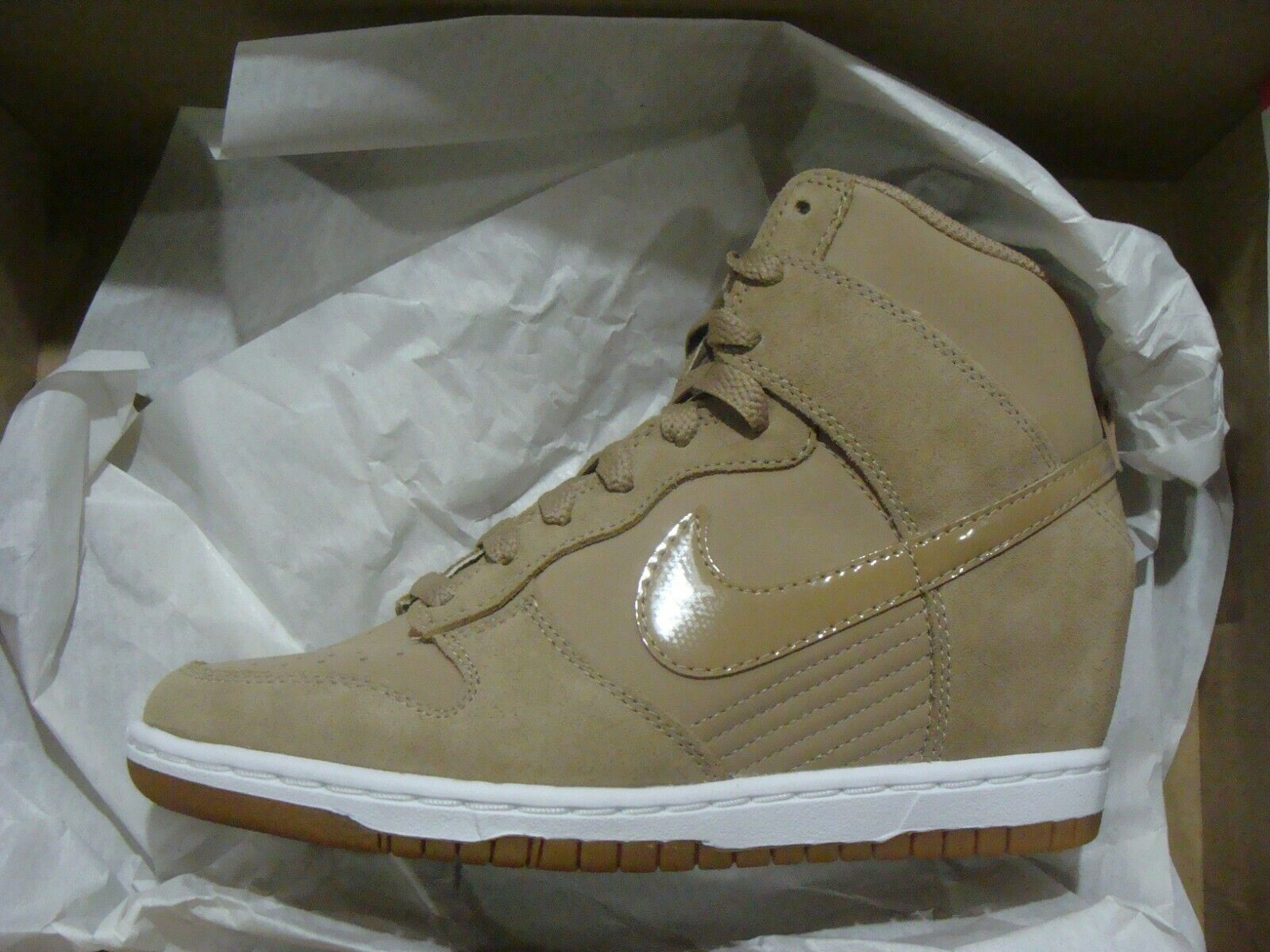WMNS NIKE DUNK SKY HI ESSENTIAL 644877 200 SIZE 69.5