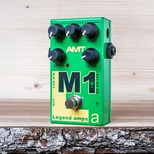 AMT-Electronics-M1-Marshall-guitar-preamp-distortion-overdrive-effect-pedal