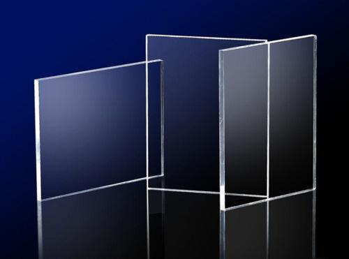 3 mm épais Transparent Cast Acrylique Perspex Feuille Plastique Plexiglass Custom panneaux