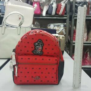Coach-F59831-Bright-Red-Black-Mini-Charlie-Backpack
