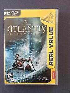 4-PC-DVD-ROM-ATLANTIS-EVOLUTION-in-italiano-con-manuale-utente-VIDEOGIOCO