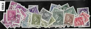 Bulk Lot 100+ Stamps / Adolph Hitler / 1942 issues WWII / Third Reich Germany