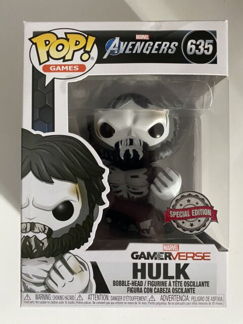 Marvel Avengers Funko Pop Gamerverse Hulk Special Edition #635