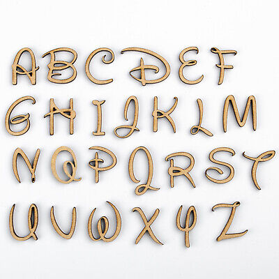 Disney Inspired Wooden Letters And Numbers MDF Shapes Decoration Scrapbook