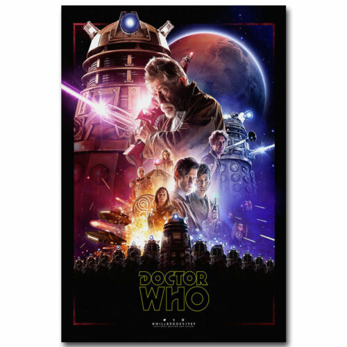 Doctor Who 9 TV Series Star Wars 14x21 24x36In Y242 Print Poster Art