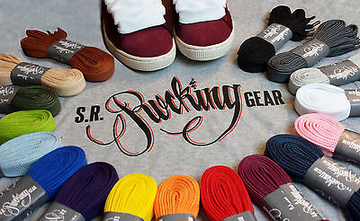 Rocking Gear Phat Fat Laces Extra Breite Schuhbänder Breakdance Skateboard