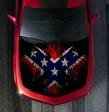 SH50 FLAG EAGLE Hood Wrap Wraps Decal Sticker Tint Vinyl Image Graphic