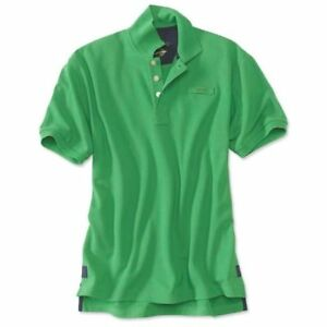 de421ef4c8f Mens Orvis Signature POLO shirt short sleeve Rugby XL Green $80 new ...
