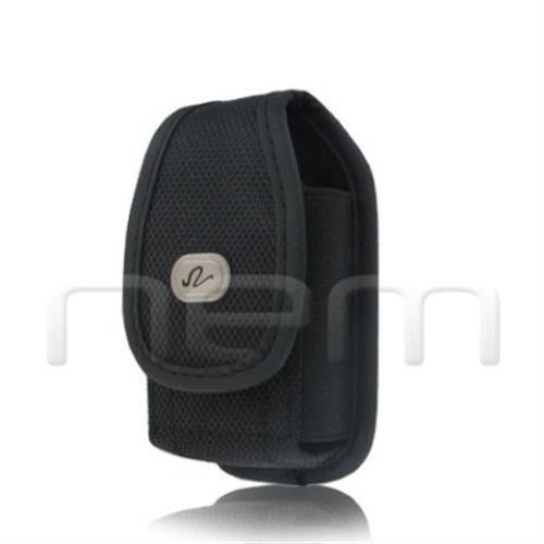 Black Vertical Heavy Duty Rugged Pouch For Motorola Quantico W845 W840 V840 V845