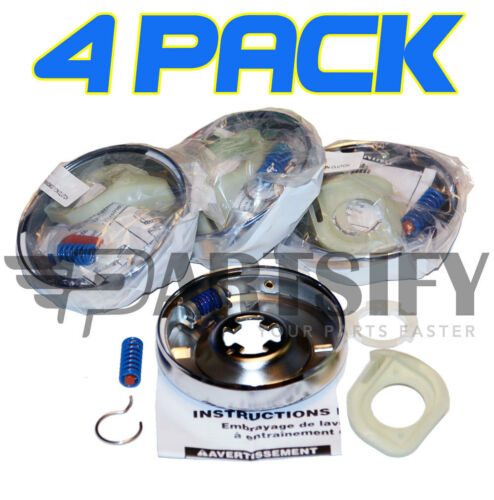 4 PACK 388949 3946794 3946847 WASHER TRANSMISSION CLUTCH FITS WHIRLPOOL KENMORE