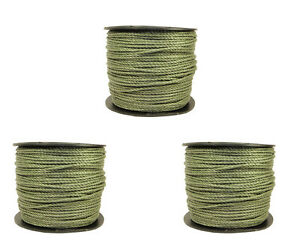 Electric-Fence-Fencing-Rope-GREEN-3-x-400-meters-6mm