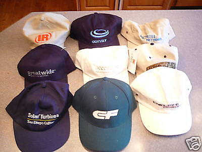 CF ballcaps hats set 3 different colors CAPS Consolidated Freightways logo NEW