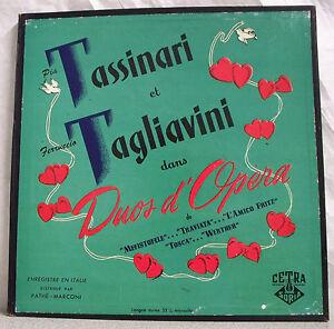 33T-Set-Pia-TASSINARI-and-F-TAGLIAVINI-Discs-LP-12-034-Operetta-DUOS-OPERA