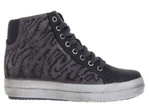 IGI-amp-CO-87735-GRIGIO-scarpe-donna-sneakers-tronchetto-pelle-camoscio-strass