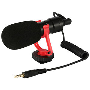 DSLR-Camera-Microphone-Video-Mic-3-5mm-amp-Windshield-Foam-Cover-for-Nikon-Canon