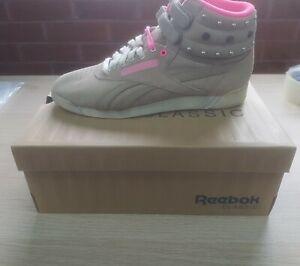 Damen Reebok Classic Freestyle Hi Sneaker (v61036) Gr. 5 UK.