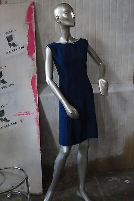 Abito Da Donna Blu Vestito Famosella Blu 60er True Vintage 60s Summer Dress Blue-mostra Il Titolo Originale