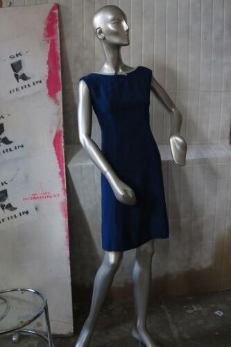 anni blu 60 Famosella True Vintage anni estivo Abito blu Abito '60 Abito donna blu YqwZwzxg