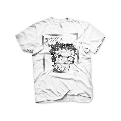 Betty Boop Comic Women T-Shirt S-XXL Sizes Officially Licensed Betty Boop