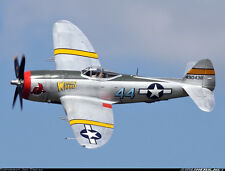 """WWII P-47D Thunderbolt  55""""wing    Scale RC Model AIrplane Printed Plans"""