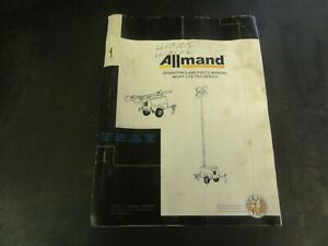 Allmand-Night-Lite-Pro-Series-Operator-039-s-and-Parts-Manual