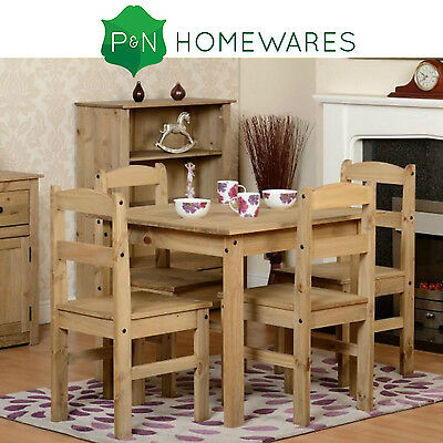 Panama Pine Dining Table And 4 Chairs