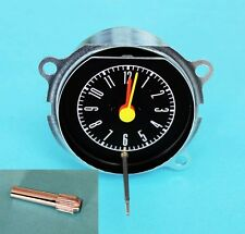 NEW! 1967-1968 Ford Mustang Instrument Bezel Clock & Knob See Picture