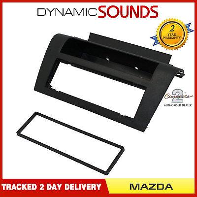 FP-26-01 Car CD Stereo Surround Trim Black Fascia Panel For Mazda 3 2004-2009