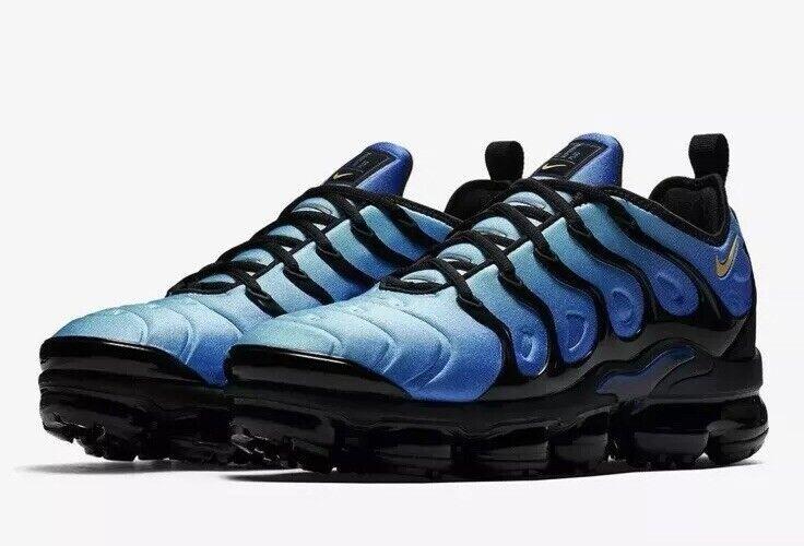 NEW Sz 9.5 Men's Nike Air Vapormax Plus Running shoes Hyper bluee 924453-008