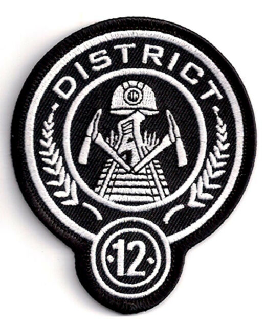 District 12 Hunger Games 35 Embroidered Uniform Patch Hgpa 001 Ebay