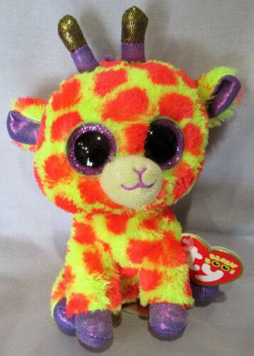 "Ty 6 /"" Beanie Boos  NEW with MINT TAGS Justice Exclusive DARCI the Giraffe"