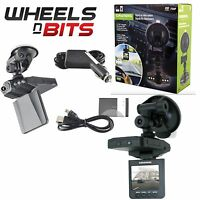 Grundig Car Van Truck 12 / 24 Volt Dvr Dash Camera Builtin Mic & 2.4 Inch Screen