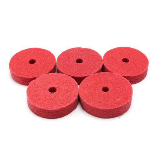 3 inch Red Nylon Fiber Abrasives Grinding polishing wire Wheel 75mm*10mm*20mm 9P