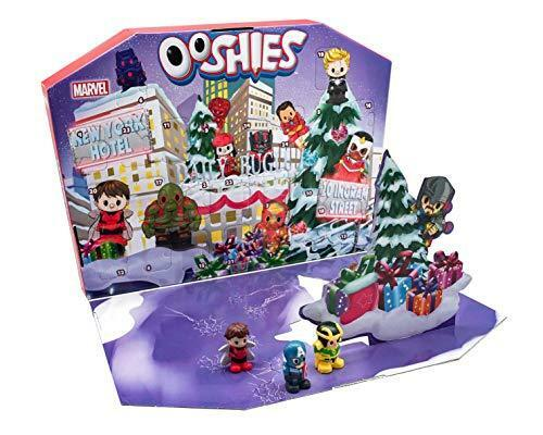 Ooshies 77170.0030 Marvel advent calendar, MultiCouleure