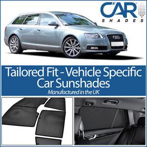 AUDI-A6-Avant-Estate-2004-11-UV-CAR-SHADES-WINDOW-SUN-BLINDS-PRIVACY-GLASS-TINT