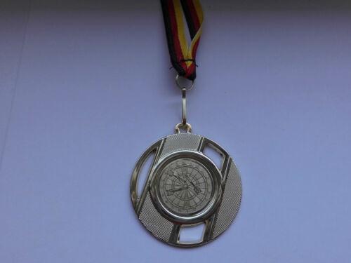 e257 Pokale & Preise Dart Darts Pokal Kids Medaillen mit Deutschland-Band Turnier Emblem Pokale