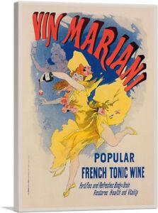 ARTCANVAS-Affiche-Pour-Le-Vin-Mariani-Canvas-Art-Print-by-Jules-Cheret