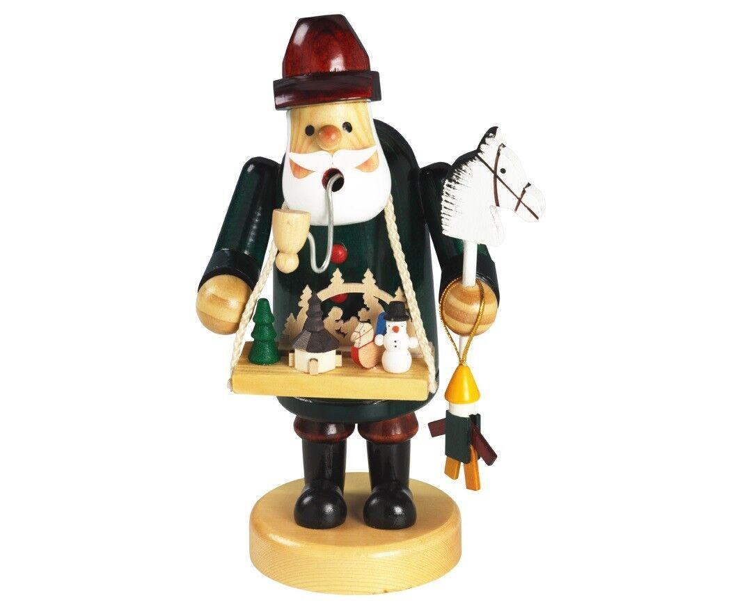 Räuchermännchen    Spielzeughändler  Bauchladen Weihnachtsmarkt XL Figur cc5798