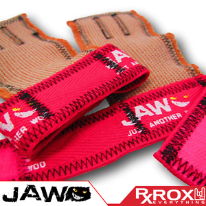 JAW Pullup GripsPinkCrossFit Palm Protectors Hand Guard Grips Gym Gloves